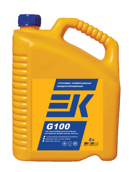 Грунтовка концентрат EK G100 (5л)
