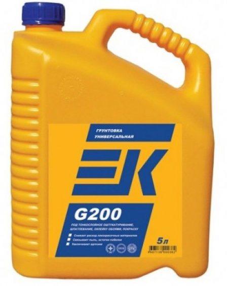 Грунтовка универсальная EK G200 (5л)
