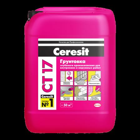 Грунтовка глубокого проникновения Ceresit CT 17 (5л)