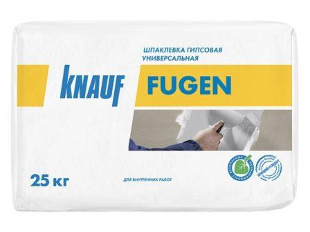 Шпаклёвка для заделки швов Кнауф Фуген (25кг)