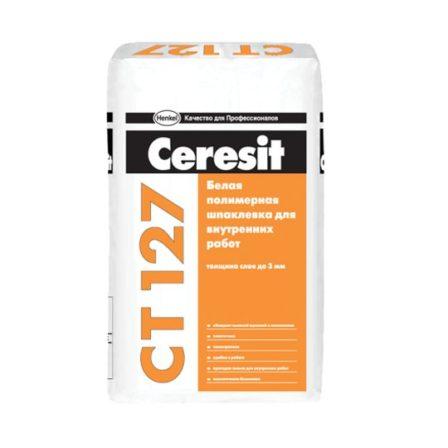 Шпаклевка финишная Ceresit CT 127 (25кг)