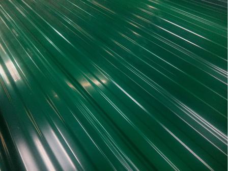 Профнастил ПВХ Зеленый