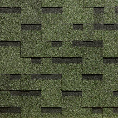 Черепица Стандарт тетрис зеленый