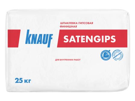 Шпаклевка гипсовая финишная Кнауф Сатенгипс (25кг)