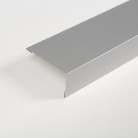 ТЕХНОНИКОЛЬ HAUBERK наличник оконный металлический, полиэстер RAL 7004 серый