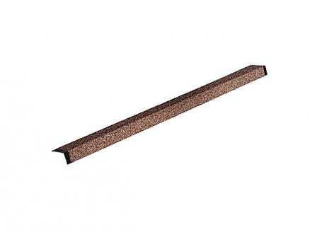 HAUBERK наличник оконный металлический красный