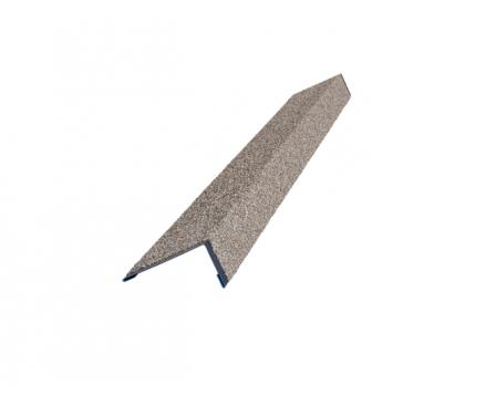 HAUBERK наличник оконный металлический песчаный
