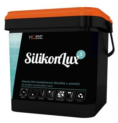Краска Kube SilikonLux для минеральных фасадов и цоколей