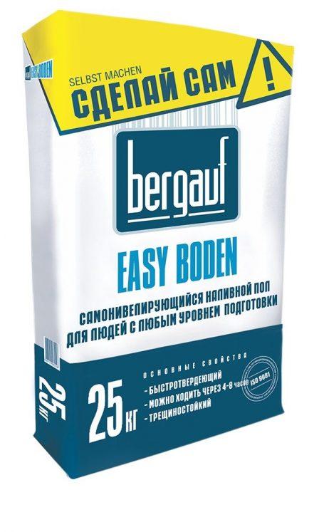 BERGAUF Easy Boden наливной пол (25кг)
