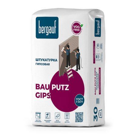 Штукатурка гипсовая Bergauf Bau Putz Gips (30кг)