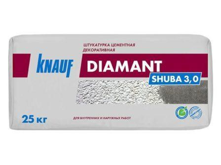 Штукатурка Knauf Диамант Шуба 3,0мм (25кг)