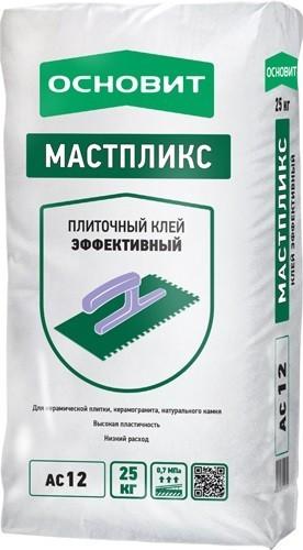 Клей плиточный Основит Мастпликс AC12 Эффективный (25кг)