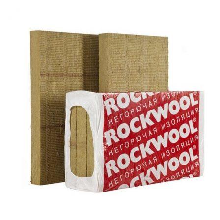 Утеплитель Rockwool Фасад Баттс Оптима, 1000х600х100мм (3пл./1,8м2)