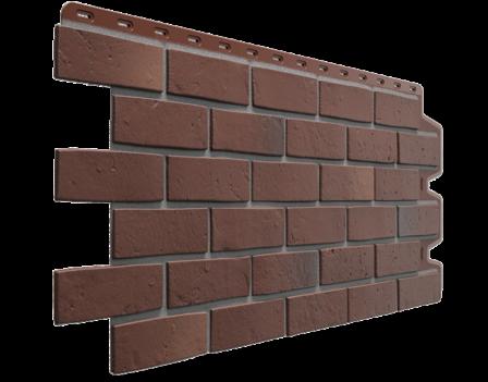 Панель фасадная Docke Berg 1131х460 мм, Коричневый
