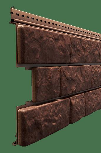 Сайдинг Docke LUX BERGART 285x1809мм, Кедровый орех