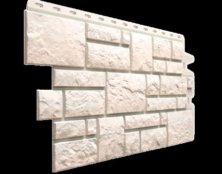 Панель фасадная Docke BURG 445х946 мм, Белый
