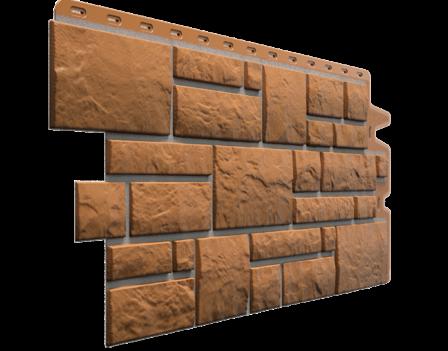 Панель фасадная Docke BURG 445х946 мм, Кукурузный