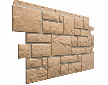 Панель фасадная Docke BURG 445х946 мм, Оливковый