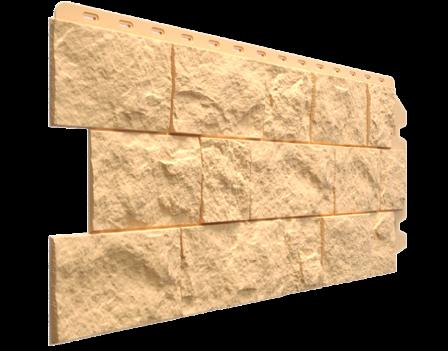 Панель фасадная Docke FELS 425х1052, Слоновая кость