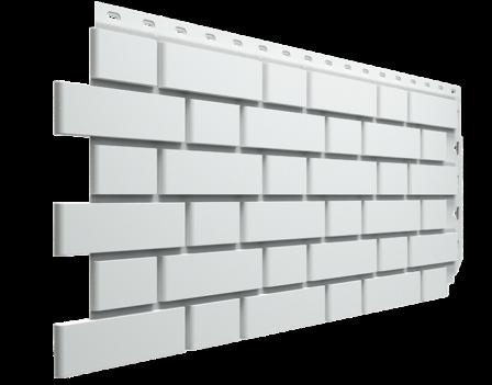 Панель фасадная Docke FLEMISH 420х1095, Белый
