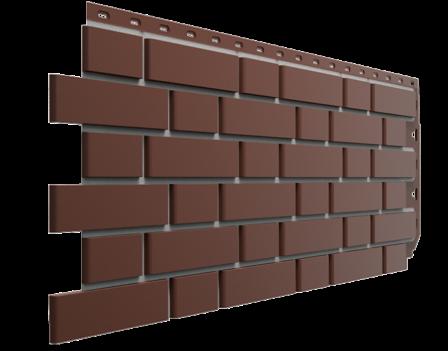Панель фасадная Docke FLEMISH 420х1095, Коричневый
