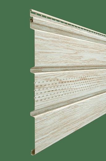 Софит с центральной перфорацией Docke LUX 305×3000мм, Орех
