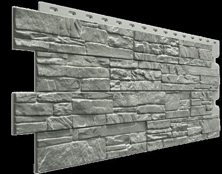 Панель фасадная Docke STEIN 400х1098 мм, Базальт