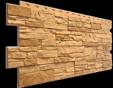 Панель фасадная Docke STEIN 400х1098 мм, Бронза
