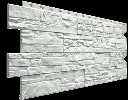 Панель фасадная Docke STEIN 400х1098 мм, Молочный