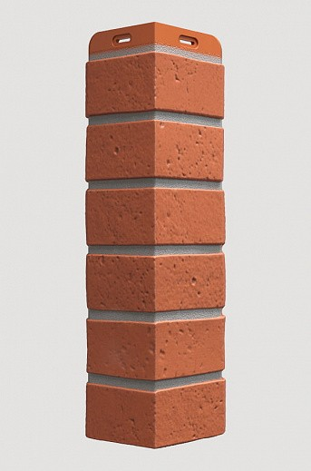 Угол для фасадной панели Docke BERG, Кирпичный (434 мм)