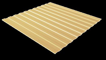 Профнастил С8 RAL 1014 (слоновая кость) полимерное покрытие