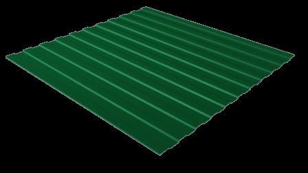 Профнастил С8 RAL 6005 (зеленый мох) полимерное покрытие