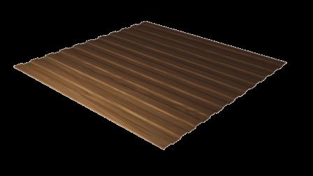 Профнастил С8 античный дуб 3D декоративное покрытие