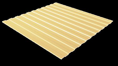 Профнастил С8 RAL 1015 (светлая слоновая кость) полимерное покрытие