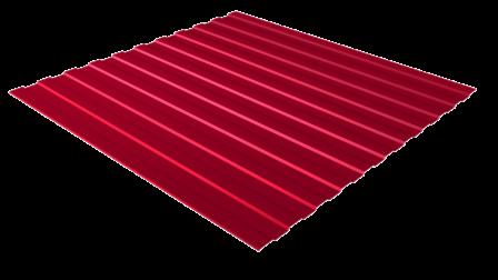 Профнастил С8 RAL 3005 (винно-красный) полимерное покрытие