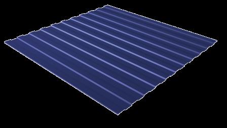 Профнастил С8 RAL 5002 (ультрамарин) полимерное покрытие