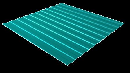 Профнастил С8 RAL 5021 (водная синь) полимерное покрытие