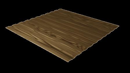 Профнастил С8 дуб 3D декоративное покрытие