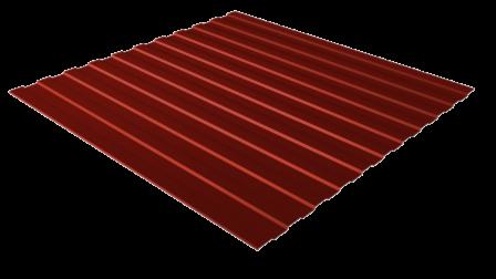 Профнастил С8 RAL 5005 (сигнальный синий) полимерное покрытие