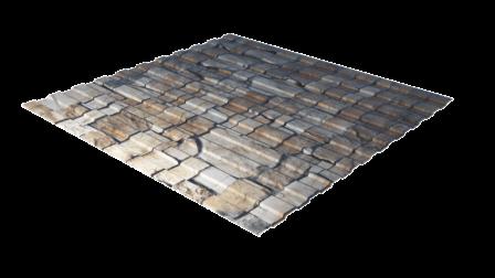 Профнастил С8 камень декоративное покрытие