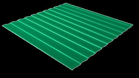 Профнастил С8 RAL 6029 (мятно-зеленый) полимерное покрытие