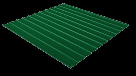 Профнастил С10 RAL 6005 (зеленый мох) полимерное покрытие