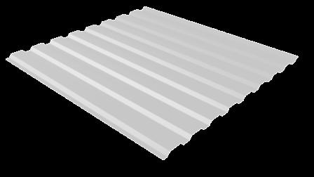 Профнастил С20 RAL 8017 (шоколадно-коричневый) полимерное покрытие