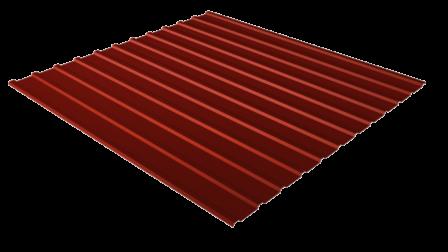 Профнастил С10 RAL 8017 (шоколадно-коричневый) полимерное покрытие
