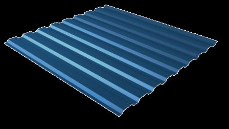 Профнастил С20 RAL 5005 (сигнальный синий) полимерное покрытие
