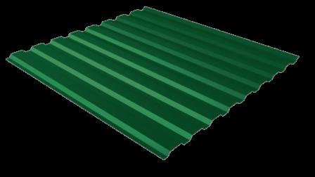 Профнастил С20 RAL 6005 (зеленый мох) полимерное покрытие