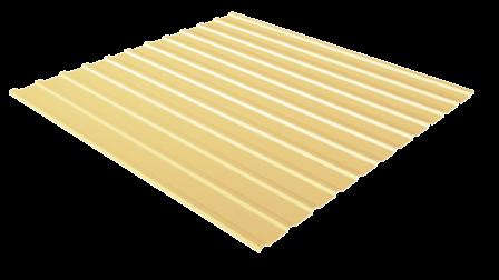 Профнастил С10 RAL 1015 (светлая слоновая кость) полимерное покрытие