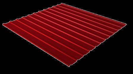 Профнастил С10 RAL 3005 (винно-красный) полимерное покрытие