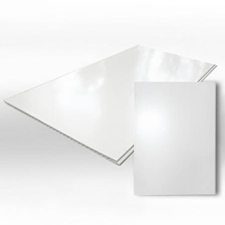 Белая глянцевая панель 2700х250х8