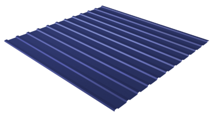 Профнастил С10 RAL 5002 (ультрамарин) полимерное покрытие